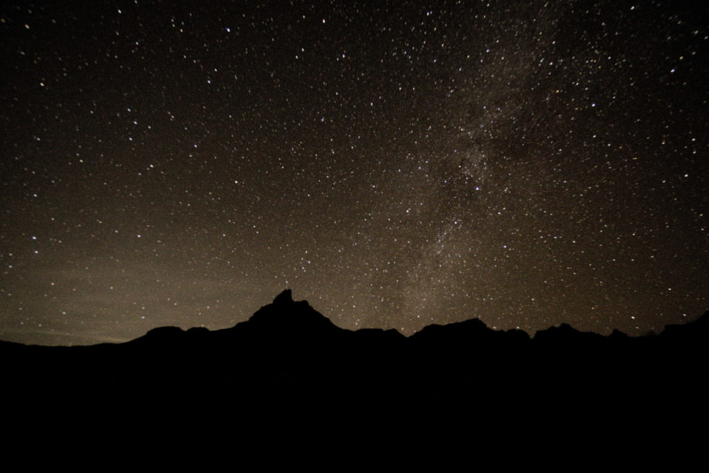 night sky over Big Bend National Park