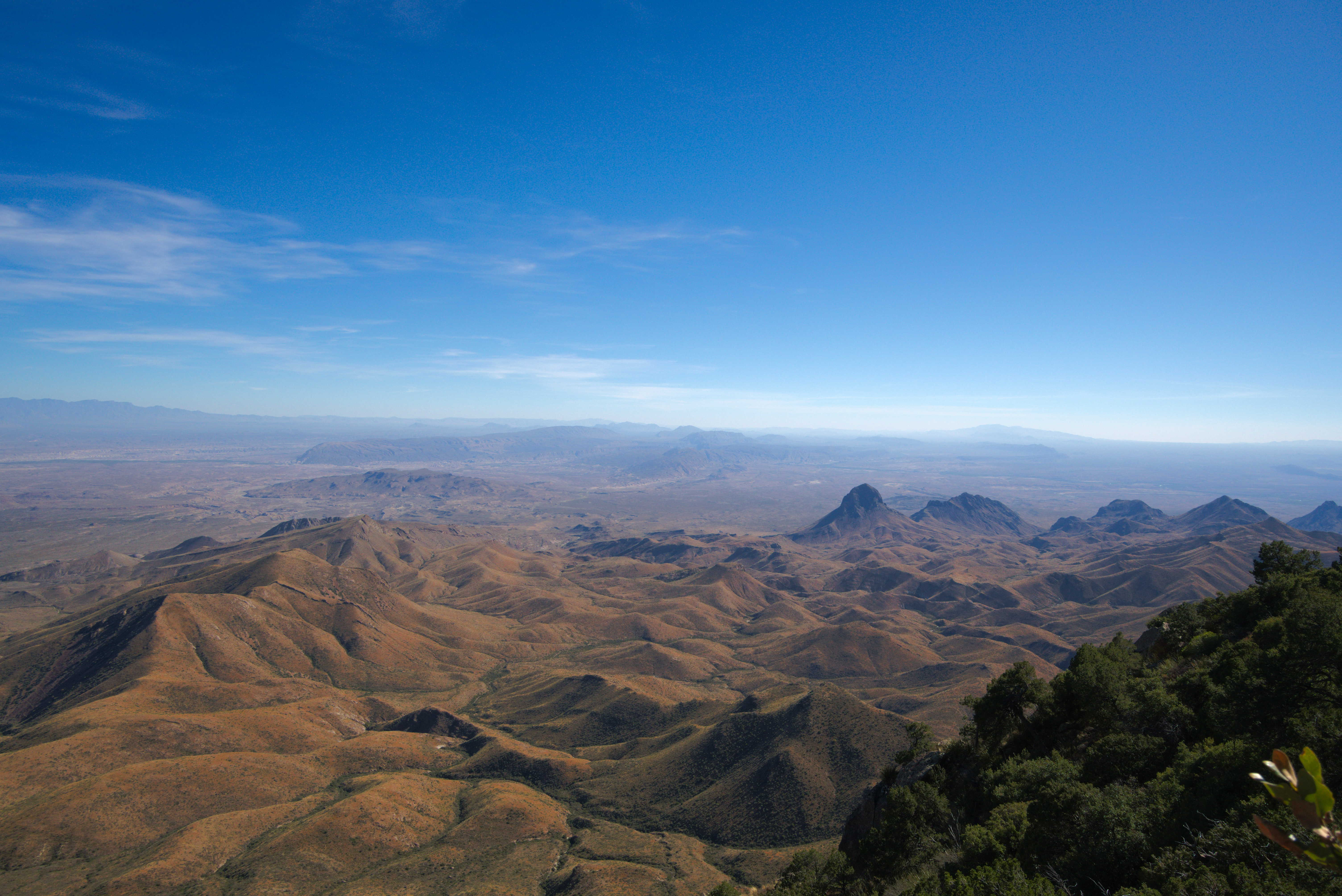 View from Big Bend's South Rim