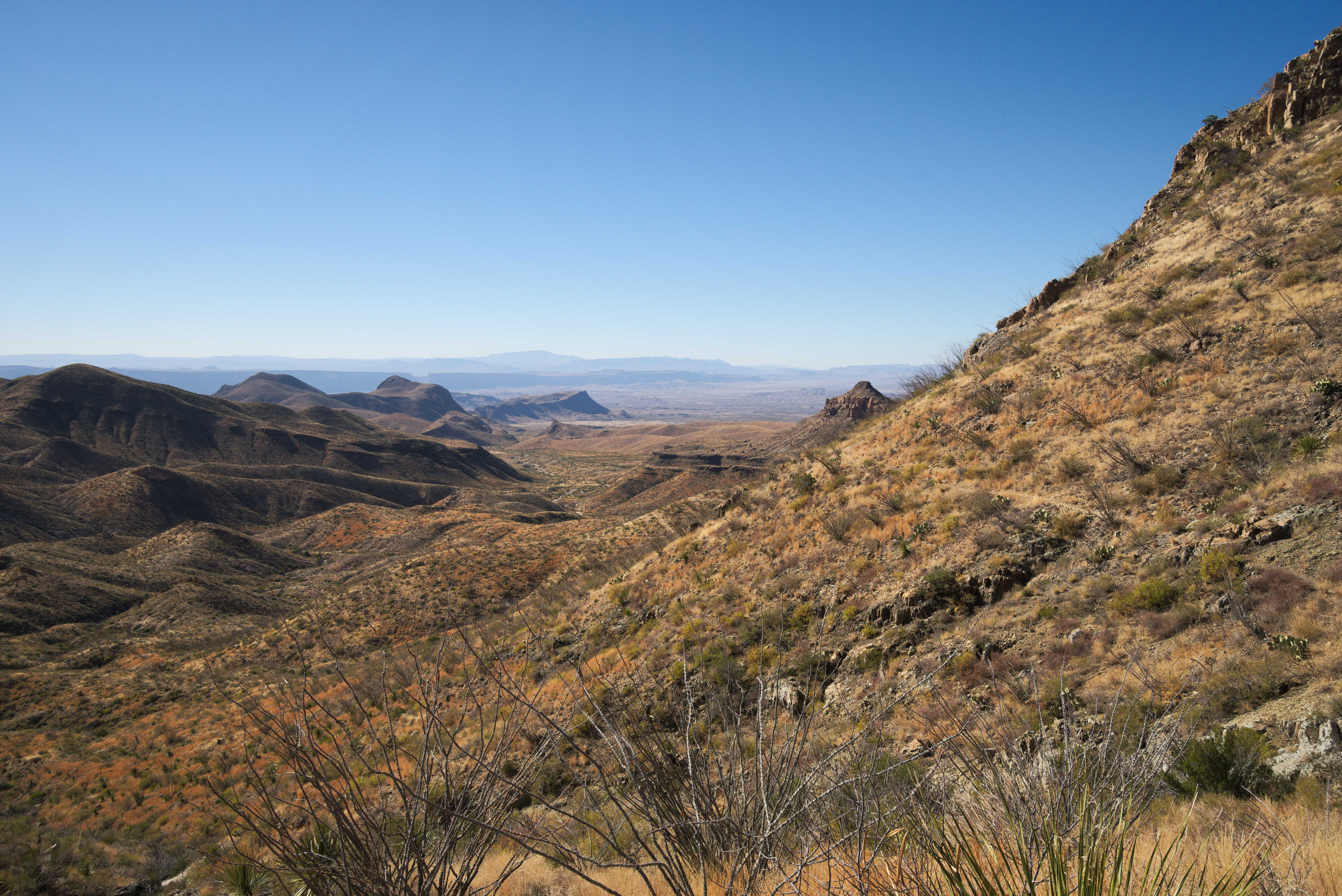 Big Bend National Park - Outer Mountain Loop