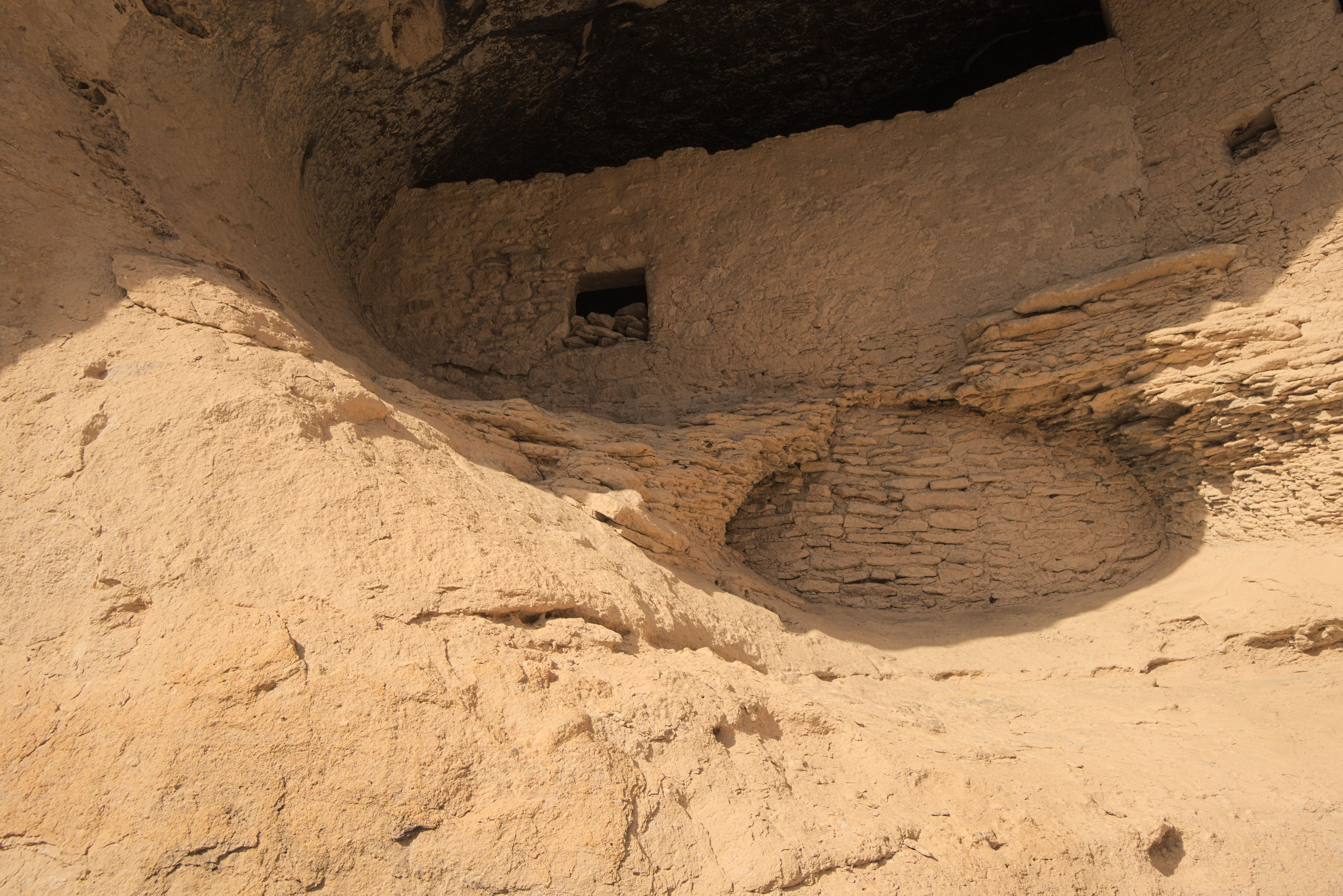 Gila Cliff Dwellings ruins, New Mexico