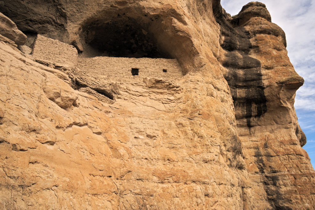 Gila Cliff Dwellings in New Mexico
