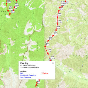 Idaho centennial trail map Archives - Wild West Trail on